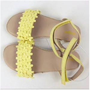 Yellow Cat /& Jack Toddler Girls/' Elvie Espadrille Sandals
